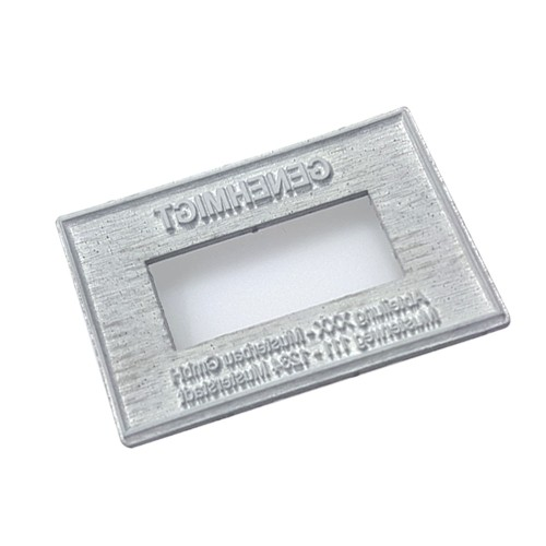 Replacement text plate for Trodat numeral stamp 55510 (incl. stamp pad 6/56)